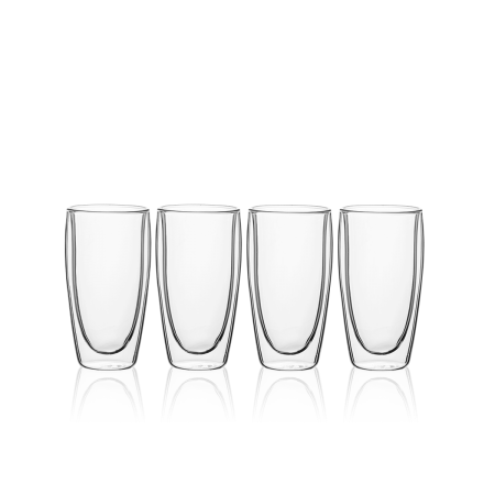 Glas BASIC Glas Double Wall 330 ml – set 4tlg.