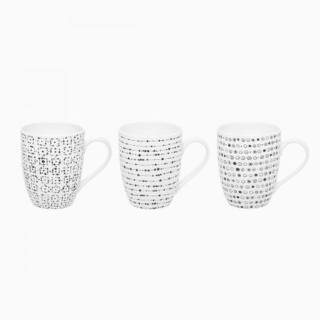 Becher-Set 320 ml Set 3 tlg. - Basic Dots